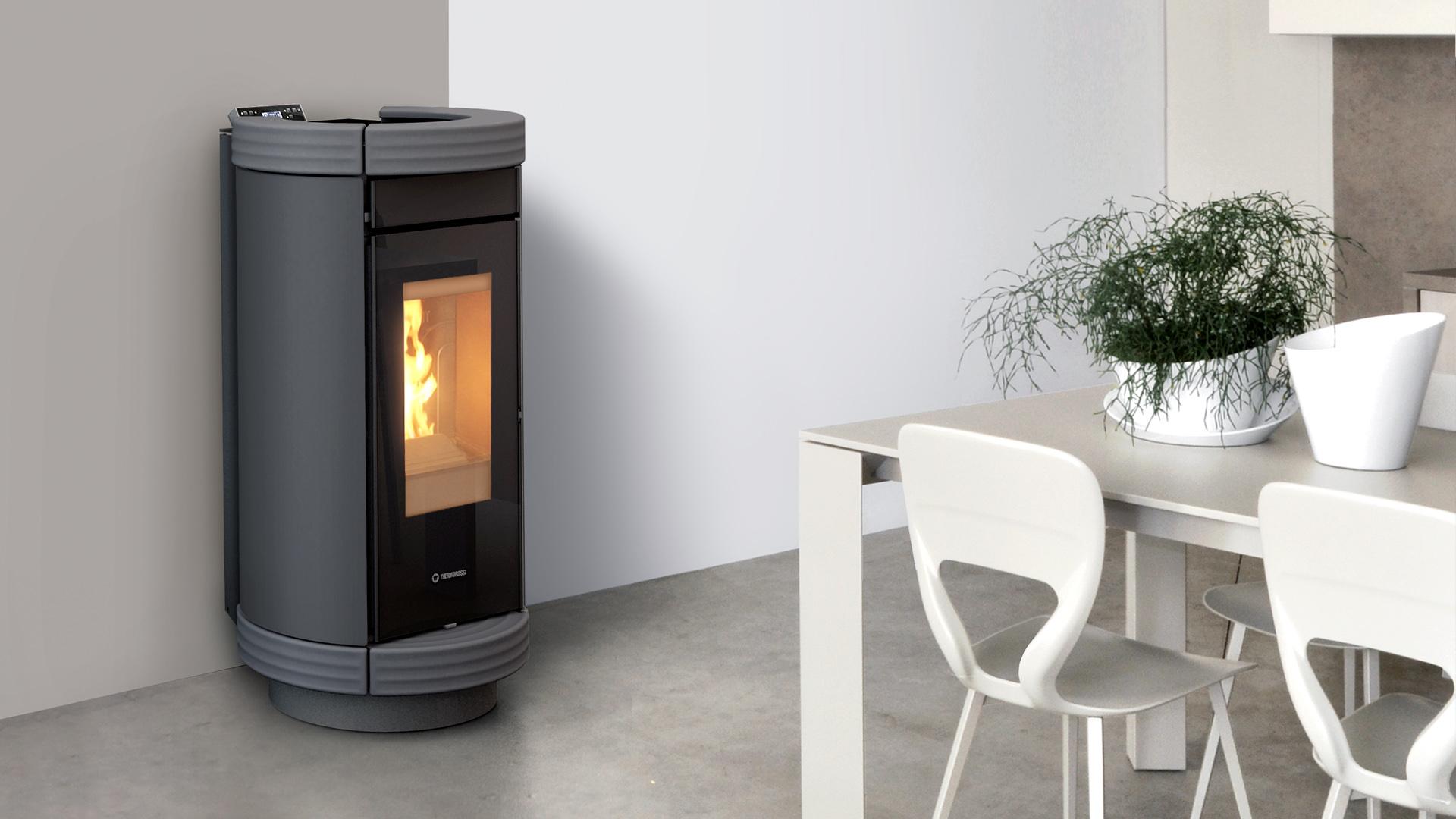 po le granul s dorica thermorossi chauffage bois et. Black Bedroom Furniture Sets. Home Design Ideas