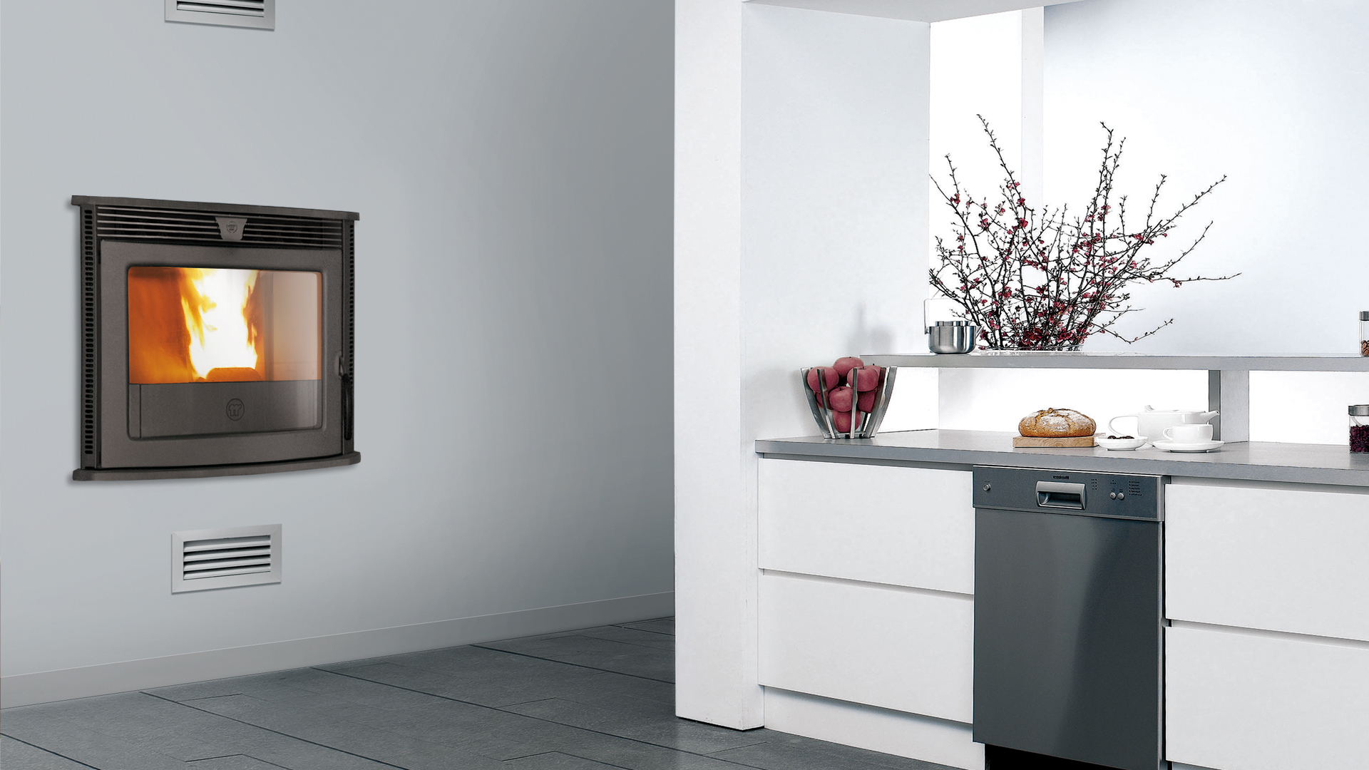 po les granul s insert 60 s fires chauffage bois et granul s. Black Bedroom Furniture Sets. Home Design Ideas