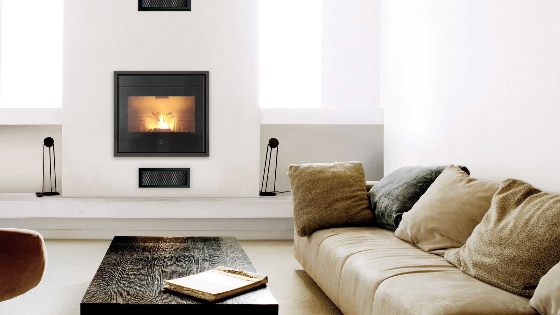 po les granul s insert line 600 s fires chauffage bois et granul s. Black Bedroom Furniture Sets. Home Design Ideas