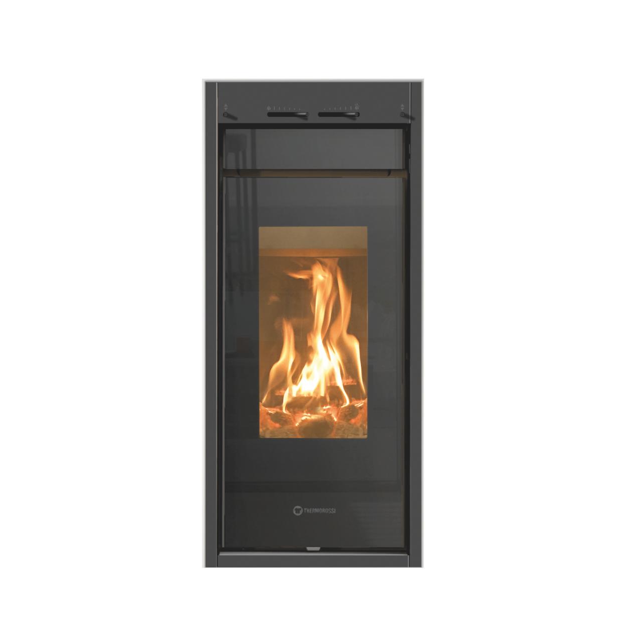 po le b ches vertical line wood thermorossi chauffage bois et granul s. Black Bedroom Furniture Sets. Home Design Ideas