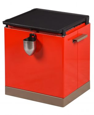 GRILLBOX ROUGE Métal rouge