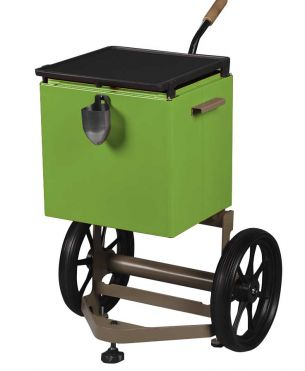 GRILL-AROUND Métal vert