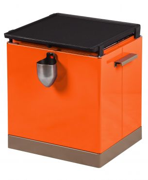 GRILLBOX Métal orange