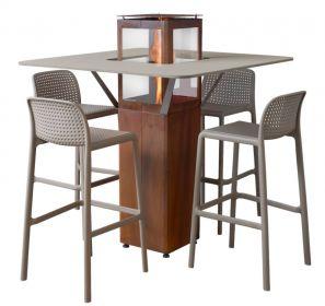 TABLE POUR QUBE