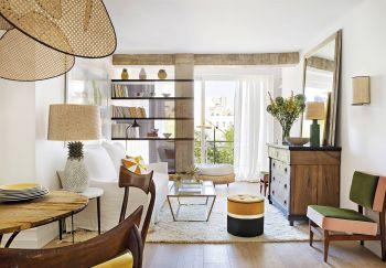 Moderne et chic, ce petit appartement a tout pour plaire